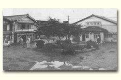 長沼温泉公衆浴場と付近